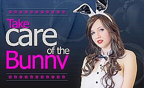 Miss K in Take Care Of The Bunny – VRConk