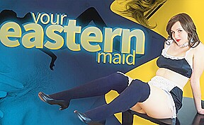 Miss K in Your Eastern Maid – VRConk